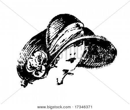 Art Deco Gal - Retro Clip Art