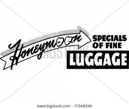 Honeymoon Specials - Retro Clipart Illustration