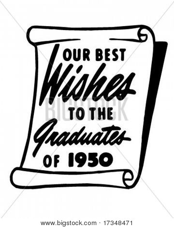 Our Best Wishes 2 - Ad Banner - Retro Clipart