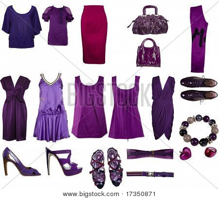 collection of bilberries clothes and accessories
