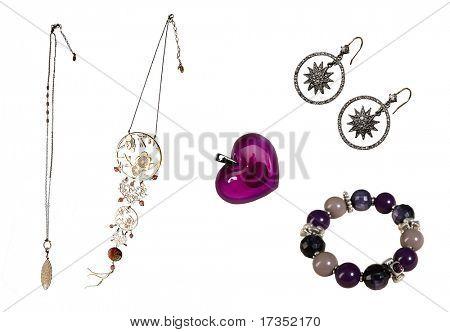 Set accessories of braslet beds Pendant  Necklace