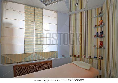 cosmetician  salon interior