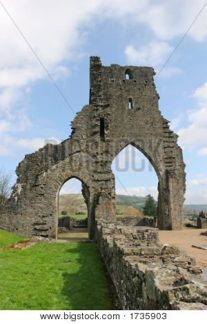 Ancient Abbey Arches