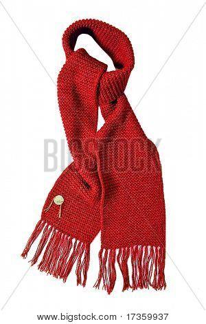 bufanda roja
