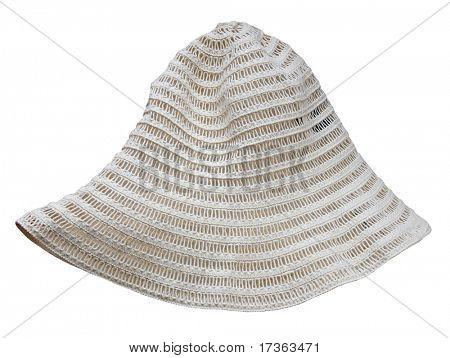 striped summer panama hat