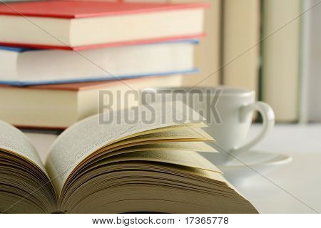 Books On The Table