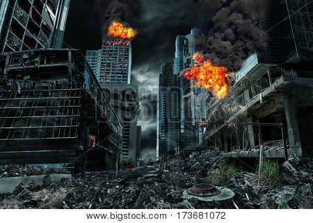 Detailed destruction of