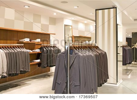 men fashion clothes store