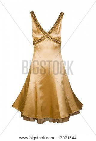 golden sundress