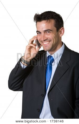 Laughing Business Man