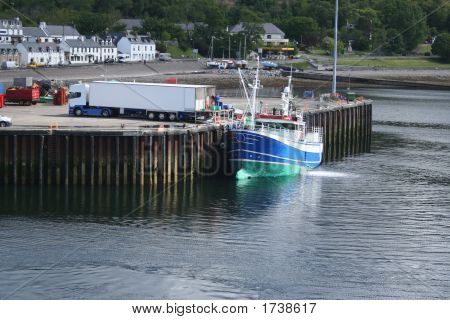 Fishing Boat At Dock