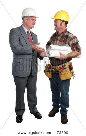 Architekt und Auftragnehmer