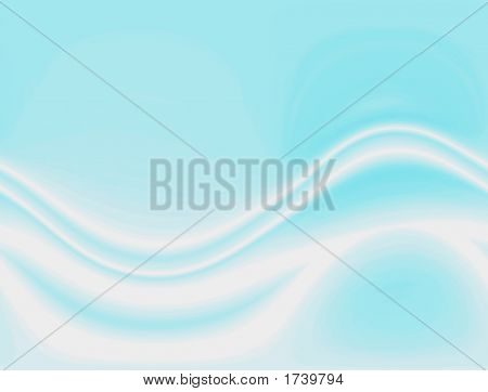 Flowing Wavy Lines Background