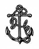 stock photo of anchor  - Anchor  - JPG
