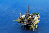 foto of rework  - Dabycha oil into the sea from above - JPG