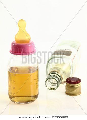 Maternidad y alcohol