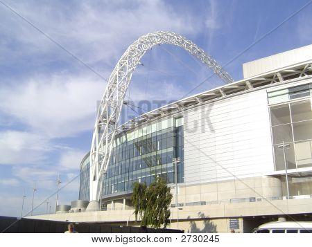 Wembley Stadium Arch. England