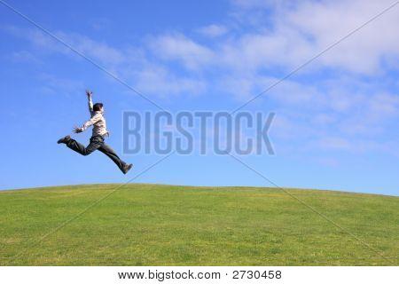 Homem de salto