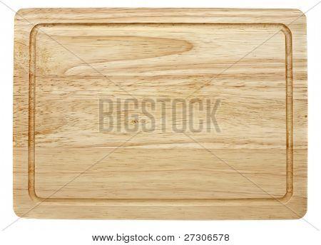 tajadera, aislado en blanco con trazado de recorte