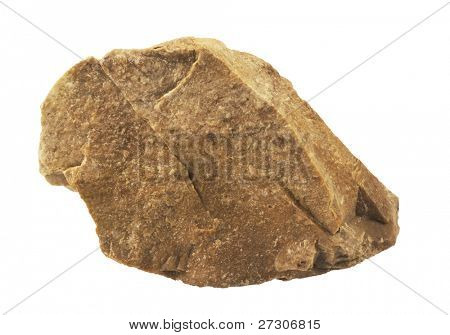 stone Granite,isolated on white with clipping path