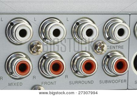 dvd back connectors
