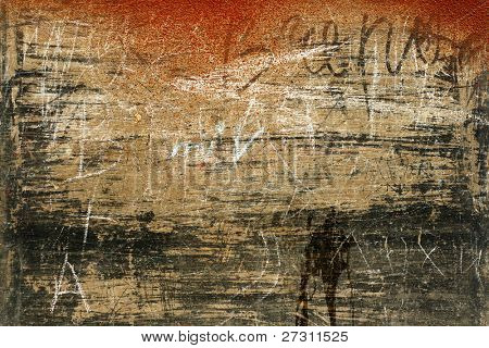 Old wall, abstract background, textures, expression, macro, map
