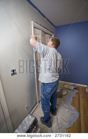 Painter Painting Trim