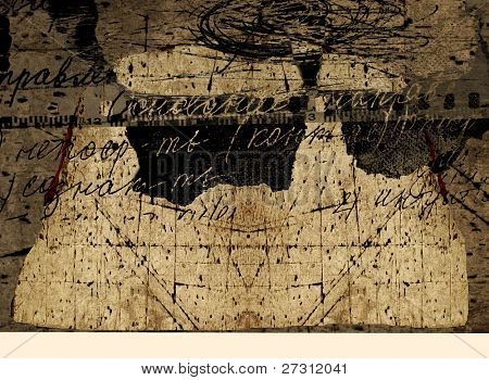 Old wall, abstract background, textures, expression, fashion, decor, decoration, action, scrawl,  fashion