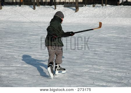 Young Ice-hockey Player