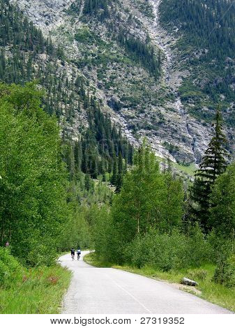 Colorado Rocky Mountain Bike Path
