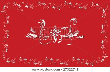 Romantic Floral Pattern sample