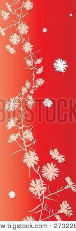 Patrón Floral romántico - muestras de la tela