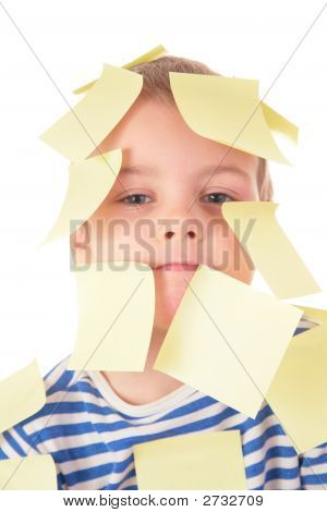 Boy In Stickers