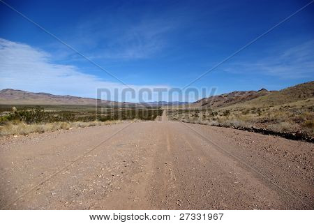 Dirt road in Nevada