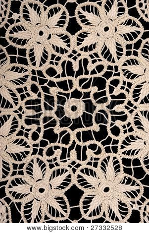 Handmade antique lace