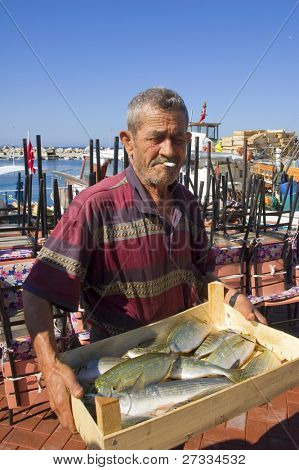 Real old man and the sea (Fisherman since childhood, shipwrecked for days. Every line on his face has a story)