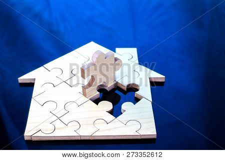 Wooden Puzzle Wait To Fulfill
