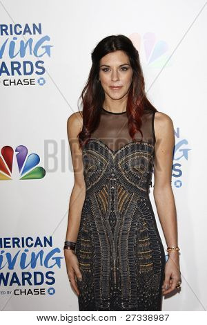 LOS ANGELES - DEC 9: Jenna Morasca at the American Giving Awards Presented By Chase at the Dorothy Chandler Pavilion on December 9, 2011 in Los Angeles, California