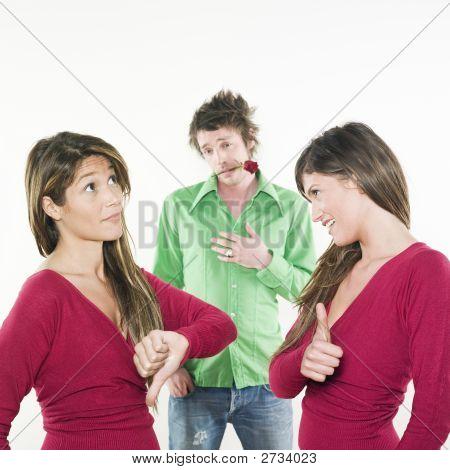 Women Choosing Man