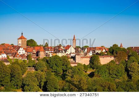 Rothenburg ob der Tauber, Germany.