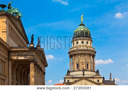 Gendarmenmarkt, Berlin, Germany.