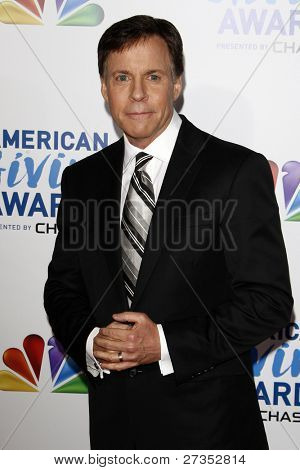 LOS ANGELES - DEC 9:  Bob Costas arrives at the 2011 American Giving Awards at Dorothy Chandler Pavilion on December 9, 2011 in Los Angeles, CA