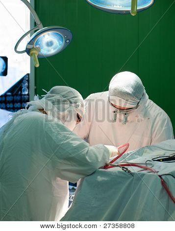 Real Gehirnchirurgie
