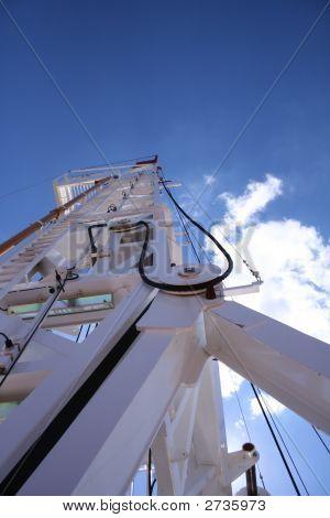 Drilling Derrick Sky