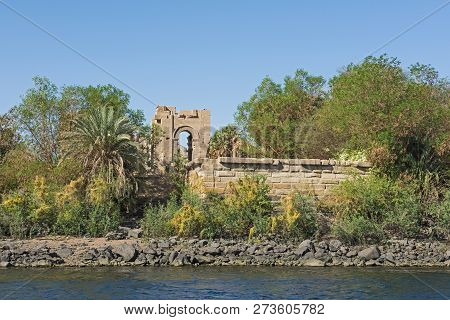 View From Nile River Of
