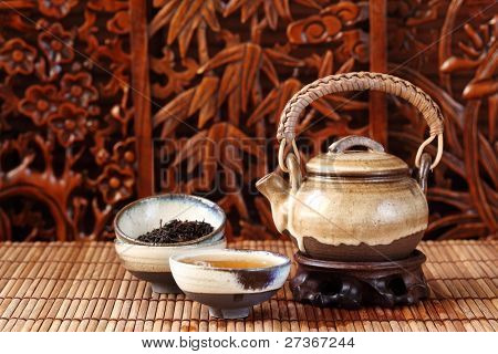 china tea serving