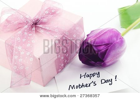 Gift for Mother's Day,Concept.