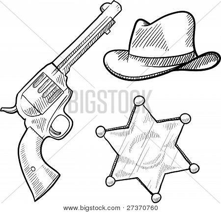 Sheriff objects sketch