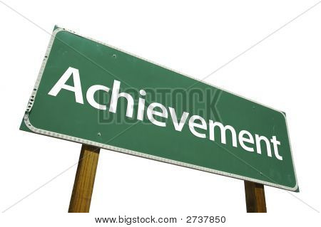 Achievement - Road Sign