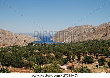 Vale of Pedi, Symi island